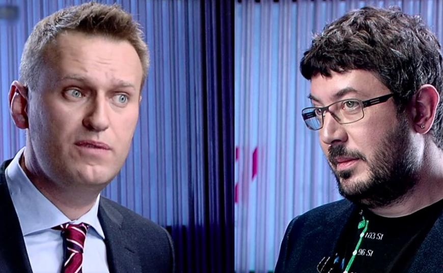 Артемий Лебедев с Навальным