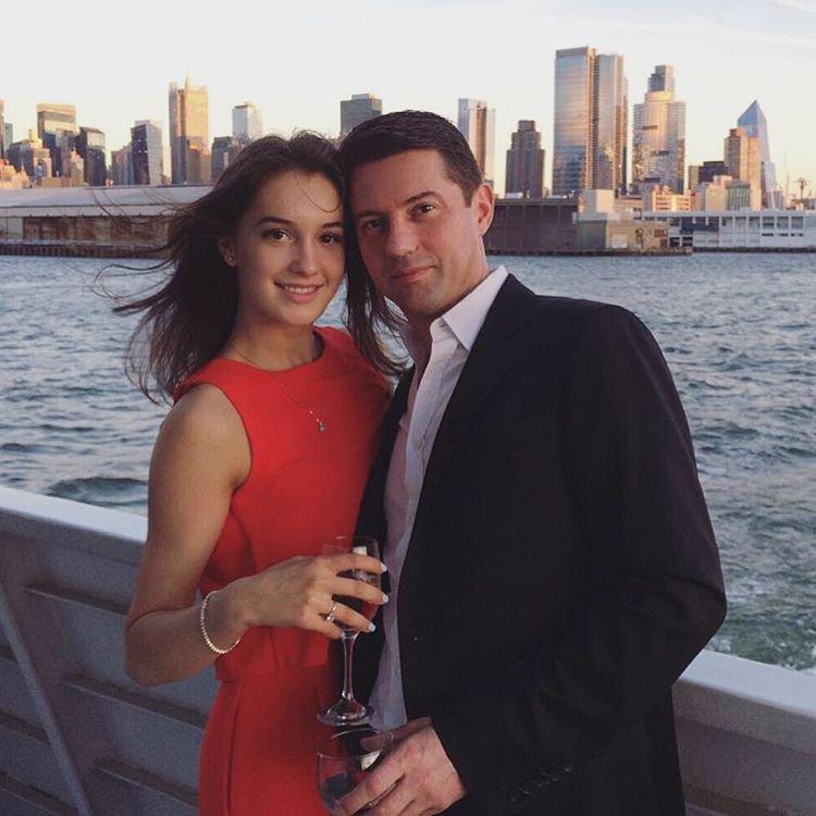 Василиса Даванкова с мужем