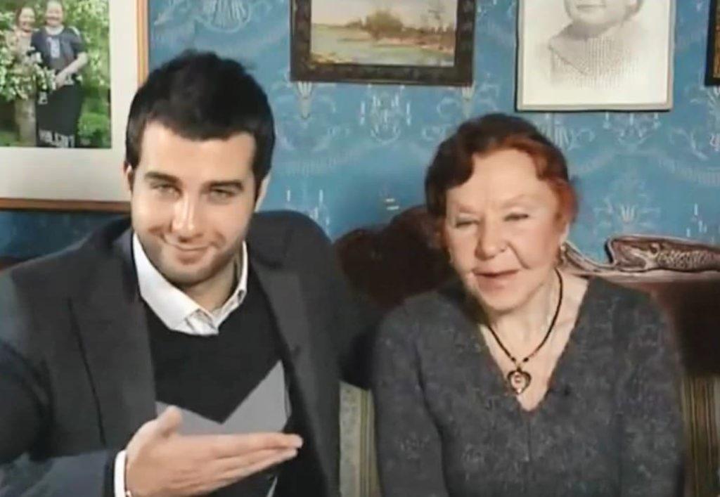 Бабушка Ивана Урганта