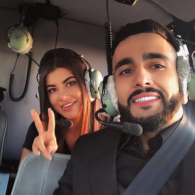 Гусейн Гасанов с девушкой