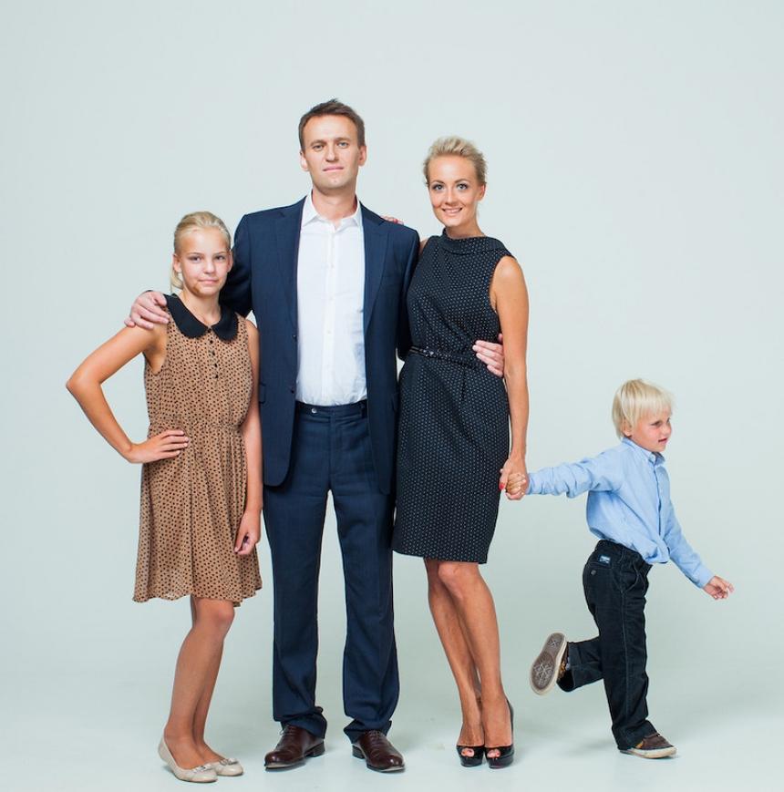 Алексей Навальный жена и дети