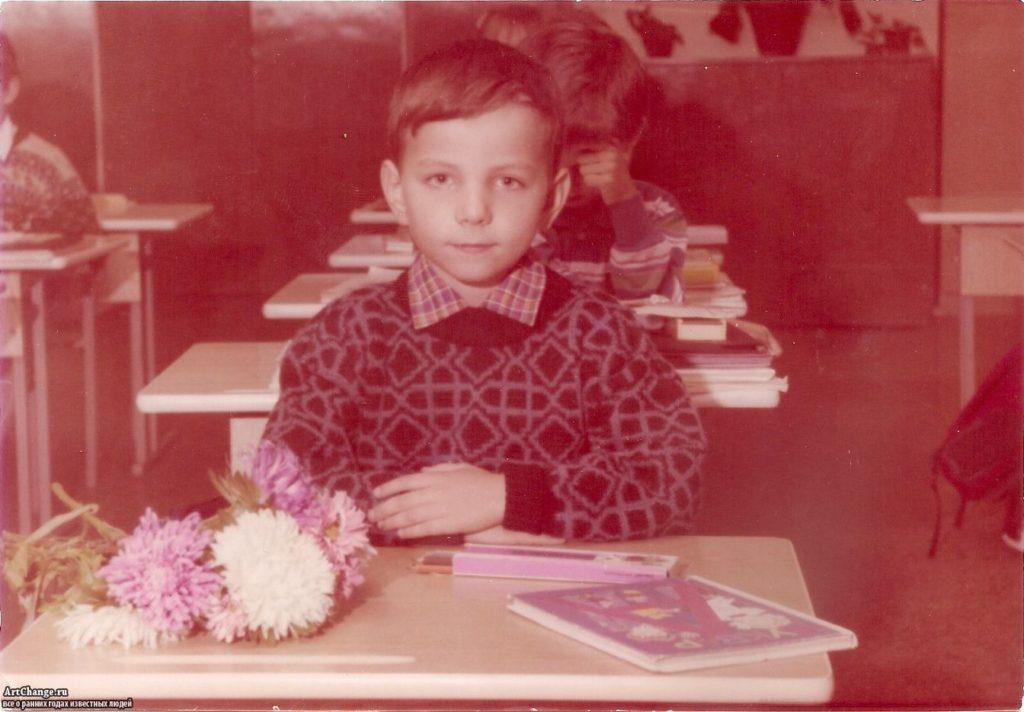 Илья Мэддисон в детстве